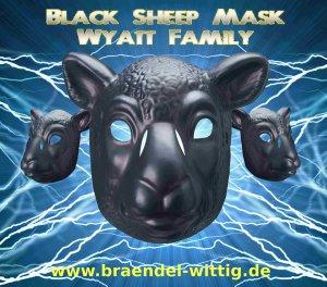 WWE Black Sheep Mask Braun Strowman
