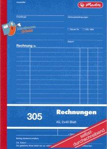 Rechnungsbuch Herlitz A5