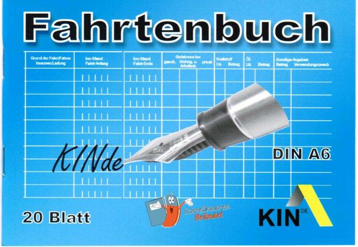 Fahrtenbuch KIN A6