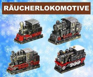 Räucherlokomotive - Lok für Räucherkerzen