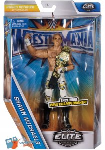 WWE Mattel Elite Wrestlemania Serie 33 Shawn Michaels