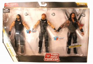 WWE Mattel Elite The Now Forever The Shield Set