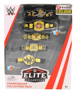 WWE Ringside Exclusive Champion Titel Pack