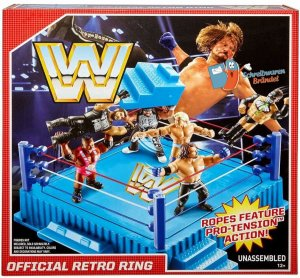 WWE Mattel Retro Ring Playset