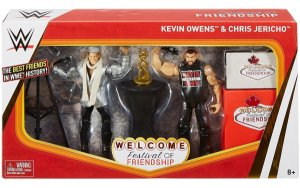 WWE Mattel Elite Epic Moment Festival of Friendship Kevin Owens / Chris Jericho