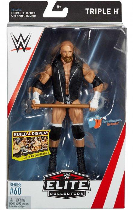 WWE Mattel Elite Serie 60 Triple H
