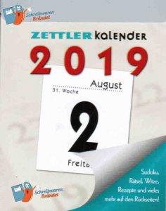 Tagesabreißkalender 2019