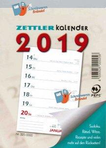 Wochenabreißkalender 2019