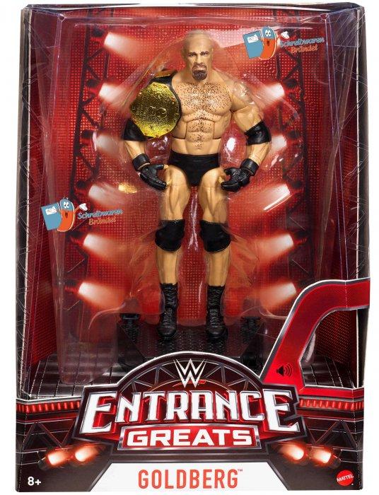 WWE Mattel Elite Entrance Greats Goldberg