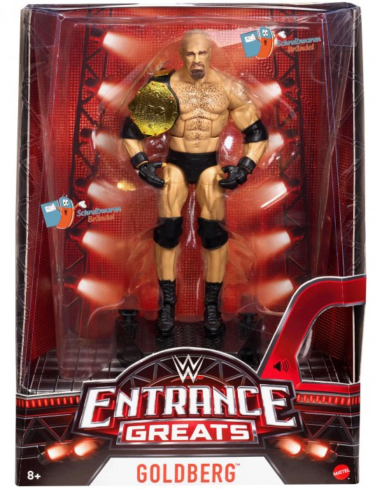 WWE Mattel Elite Entrance Greats Goldberg
