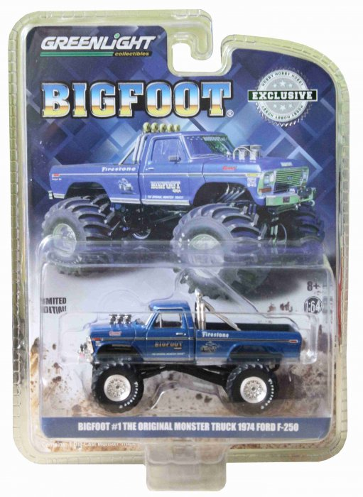 Greenlight The Original Monstertruck Bigfoot 1:64 Ford F 250