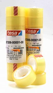Tesa Klebeband Transparent 10 m x 19 mm
