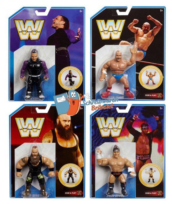 WWE Mattel Retro Serie 8 Komplett