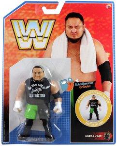 WWE Mattel Retro Serie 9 Samoa Joe