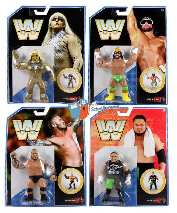 WWE Mattel Retro Serie 9 Komplett
