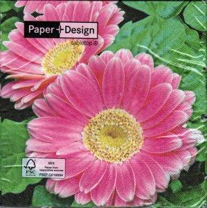 Servietten Paper+Design Gerbera