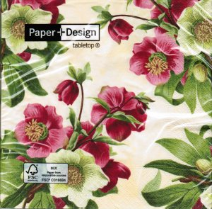 Servietten Paper+Design Easter Rose