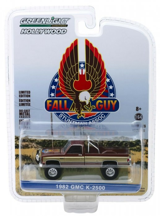 Greenlight Chevy GMC K-2500 Fall Guy - 1:64 Truck