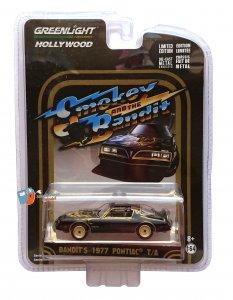 Pontiac T/A 1977 Smokey and the Bandit 1:64 Greenlight