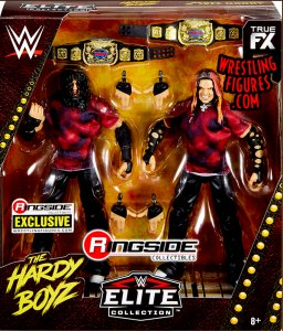 WWE Mattel Elite Ringside Exclusive The Brood Hardy Boyz