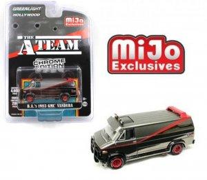 Greenlight Chevy GMC A-Team Van 1:64 Chrome Edition MiJo