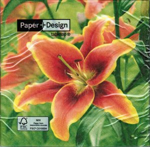 Servietten Paper+Design Lilium