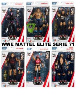 WWE Mattel Elite Serie 71 Komplett