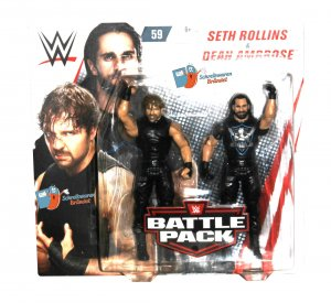 WWE Mattel Battle Pack Serie 59 The Shield Dean Ambrose / Seth Rollins