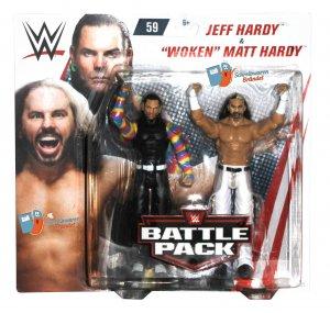 WWE Mattel Battle Pack Serie 59 Hardy Boyz Matt / Jeff Hardy