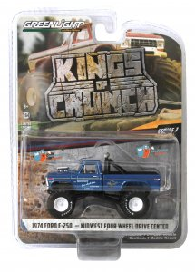 Greenlight Kings of Crunch Serie 3 Monstertruck Midwest Four Wheel Ford F-250