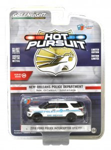 Greenlight Hot Pursuit Serie 30 2016 Ford Police Interceptor Utility 1:64
