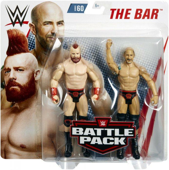 WWE Mattel Battle Pack Serie 60 The Bar Cesaro und Sheamus