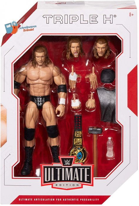 WWE Mattel Ultimate Edition Triple H