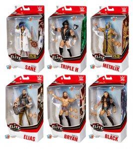 WWE Mattel Elite Serie 73 Komplett
