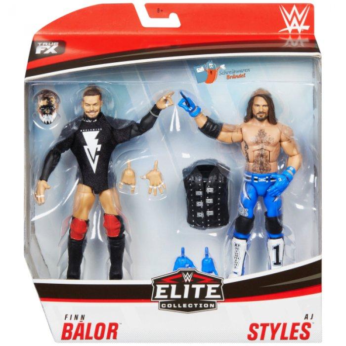 WWE Mattel Elite Doppelpack Serie 1 AJ Styles und Finn Balor