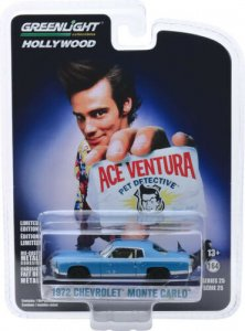 Chevrolet Monte Carlo 1972 Ace Ventura 1:64 Greenlight