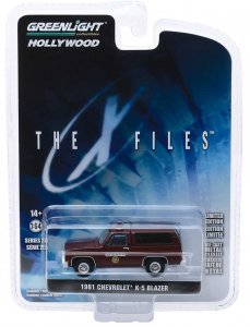 Chevrolet K-5 Blazer 1981 The X Files 1:64 Greenlight