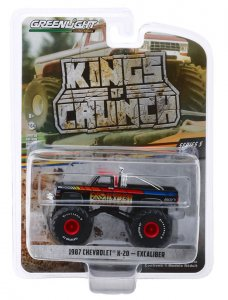 Greenlight Kings of Crunch Serie 5 Monstertruck Excaliber Chevrolet K-20 Silverado