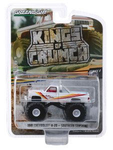 Greenlight Kings of Crunch Serie 5 Monstertruck Southern Sunshine Chevrolet K-20 Silverado