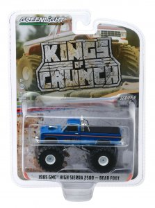 Greenlight Kings of Crunch Serie 6 Monstertruck Bear Foot GMC High Sierra 2500