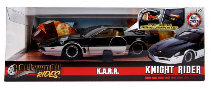 Jada Knight Rider K.A.R.R. 1/24 mit Leuchtfunktion Knightrider