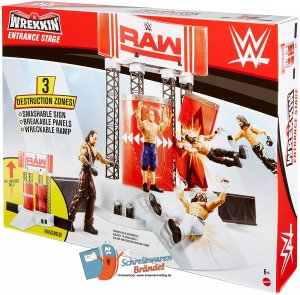 WWE Mattel Raw Wrekkin Entrance Stage
