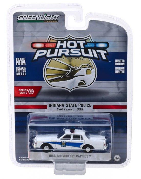 Greenlight Hot Pursuit Serie 33 1986 Chevrolet Caprice 1:64