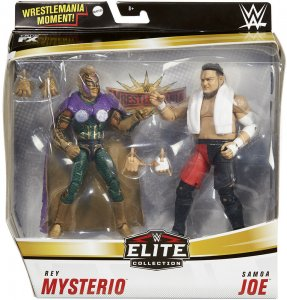 WWE Mattel Elite Doppelpack Serie 2 Samoa Joe und Rey Mysterio