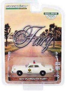 Greenlight 1977 Plymouth Fury Hazzard County Sheriff 1:64