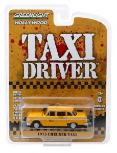 Checker Taxicab 1975 Taxi Driver Greenlight 1:64