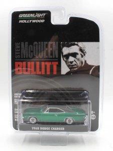 Dodge Charger 1968 Steve McQueen Bullit 1:64 Greenlight - Green Machine