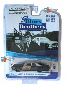 Greenlight Jake & Elwood's Bluesmobil 1:64 - GREEN MACHINE