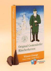 Crottendorfer Räucherkerzen Winter-Orange