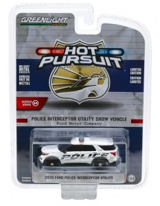 Greenlight Hot Pursuit Serie 34 2020 Ford Police Interceptor Utility 1:64